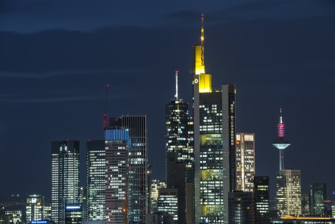 Commerzbank, Taunusturm, EZB, Europaturm